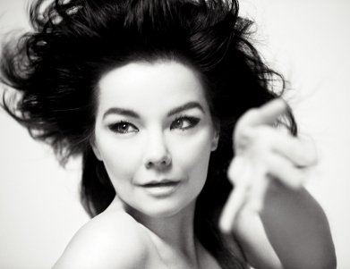 Bjork saying 'Pussy Riot' is bloody great.