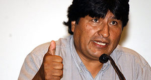 54 Year Old Bolivian President Signed To Football Club