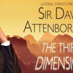 Sir David Attenborough At The Qantas Arena